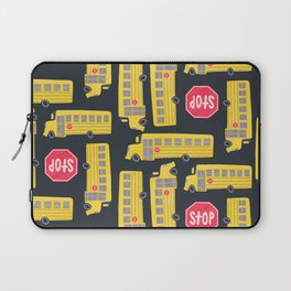 Bus Pattern Laptop Sleeve