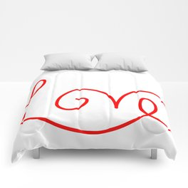 Valentine Love Comforters