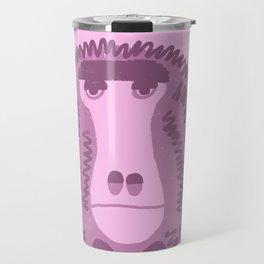 Unhappy Baboon Travel Mug