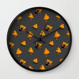 Nachos Locos Wall Clock