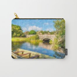 Padarn Lake Boats Carry-All Pouch