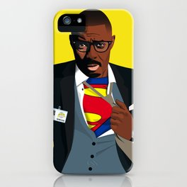 Superman with Swag iPhone Case