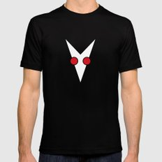 Logo d'Albin et les albinos Black MEDIUM Mens Fitted Tee