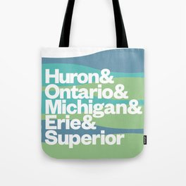 Great Lakes Ampersand Tote Bag
