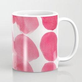 18    | 190408 Red Abstract Watercolour Coffee Mug