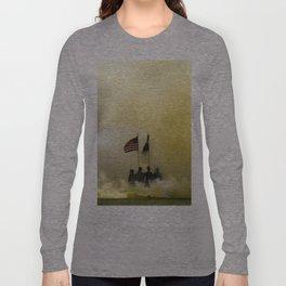 US Army Graduation - Panoramic Long Sleeve T-shirt