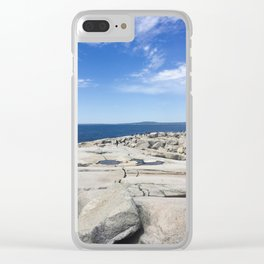 Lighthouses Clear iPhone Case