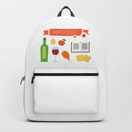 Happy Passover Day Backpack