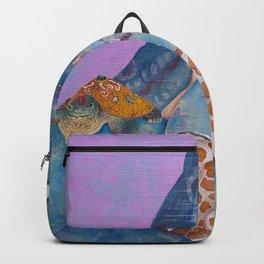 Turtle and the Giraffe Backpack