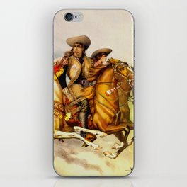 Buffalo Bill Cody - Rough Riders iPhone Skin