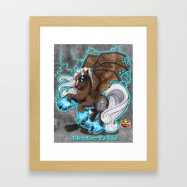 Electro Cutie Framed Art Print