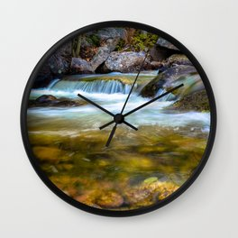 Forest Pool Wall Clock