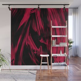 Abstract flow painting v13 Wall Mural
