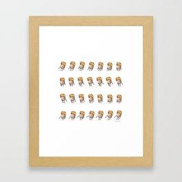 Bolo de Arroz - The Dancer Framed Art Print