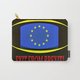 Exit From Brexit Carry-All Pouch
