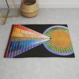 12,000pixel-500dpi - Hilma af Klint - Altarpiece - Digital Remastered Edition Rug