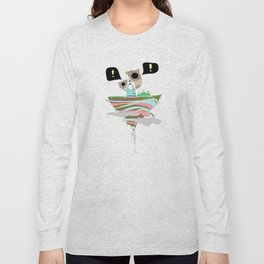 Dreaming for an adventure. Long Sleeve T-shirt