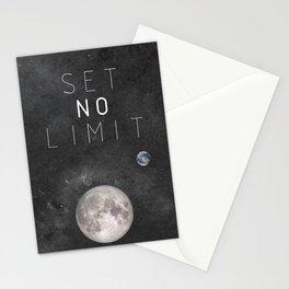 SET NO LIMIT Stationery Cards