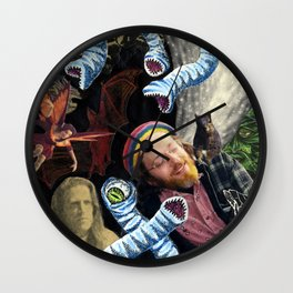 Reverie In The Thirteenth Hour Wall Clock