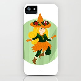 The Little Witch iPhone Case