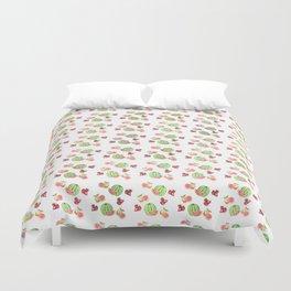 Three Fruit Combo Pattern Duvet Cover