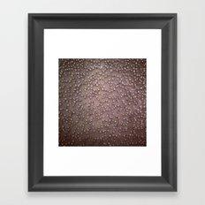 Gold Sparkle Framed Art Print