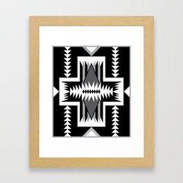 Navajo Design Eight B Framed Art Print