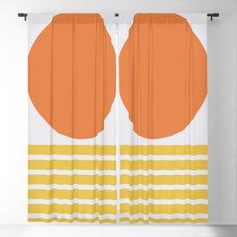 Geometric Form No.5 Blackout Curtain
