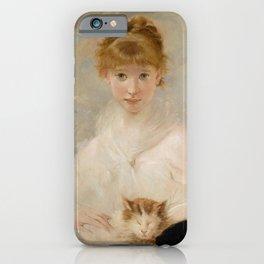 Charles Joshua Chaplin - Der kleine Liebling iPhone Case