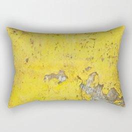 Yellow Weathered Wood rustic decor Rectangular Pillow