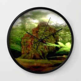Stumped Wall Clock