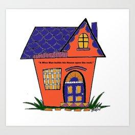 House Upon the Rock Art Print