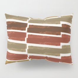Autumn colors inspired abstract pattern Pillow Sham