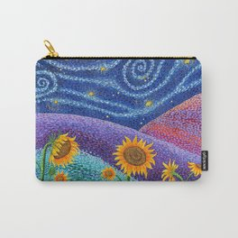 Dream Fields Carry-All Pouch
