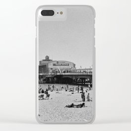Bournemouth Pier - Summer In England Clear iPhone Case