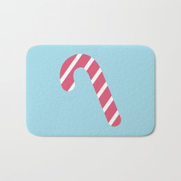 Cute Candy Cane Bath Mat
