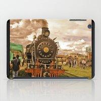 train iPad Cases featuring Train by Alejandra Triana Muñoz (Alejandra Sweet
