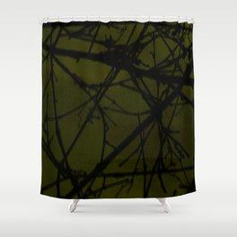 through the grapevine Shower Curtain
