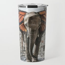 Lost Butterphant in NYC Travel Mug