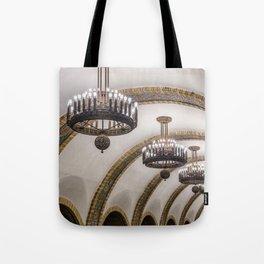 Kyiv subway Tote Bag