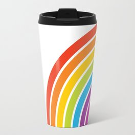 A Rainbow World Travel Mug
