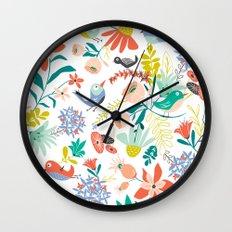 Gracie's Garden Wall Clock