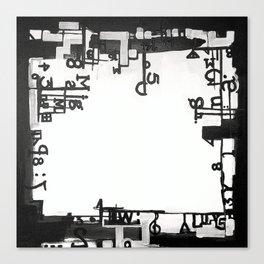 TYPOGRAPHiKA Canvas Print