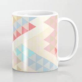 Harlequin Pale Background Coffee Mug
