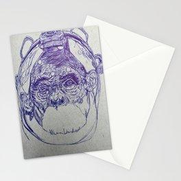 Space Monkey #2 Stationery Cards