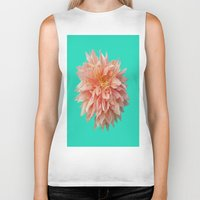 jewish Biker Tanks featuring Flower Petals by Brown Eyed Lady