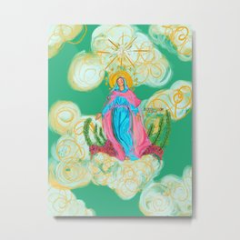 The Assumption of Mary Metal Print