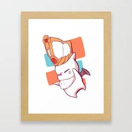 [FFXIV] Church of Mog Framed Art Print