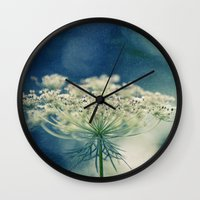 lace Wall Clocks featuring Lace by Sandra Arduini