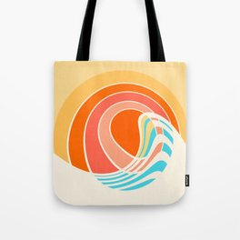 Sun Surf Tote Bag
